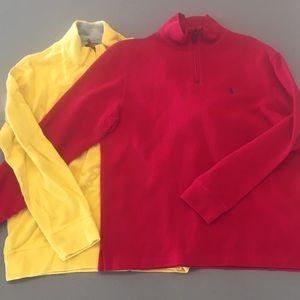 Quarter Zip Sweater Bundle - Polo & Lands' End